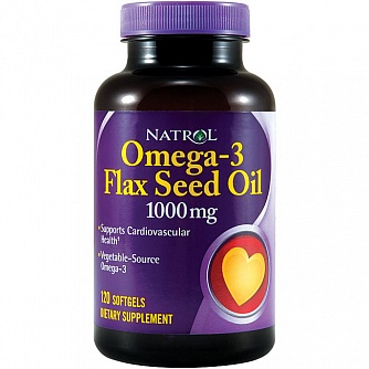 Omega-3 Flax Seed Oil 1000 mg